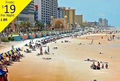 Western Resort 3 days 2 nights Daytona Beach Florida oceanfront package sleeps 4 ~ oceanfront resort suite